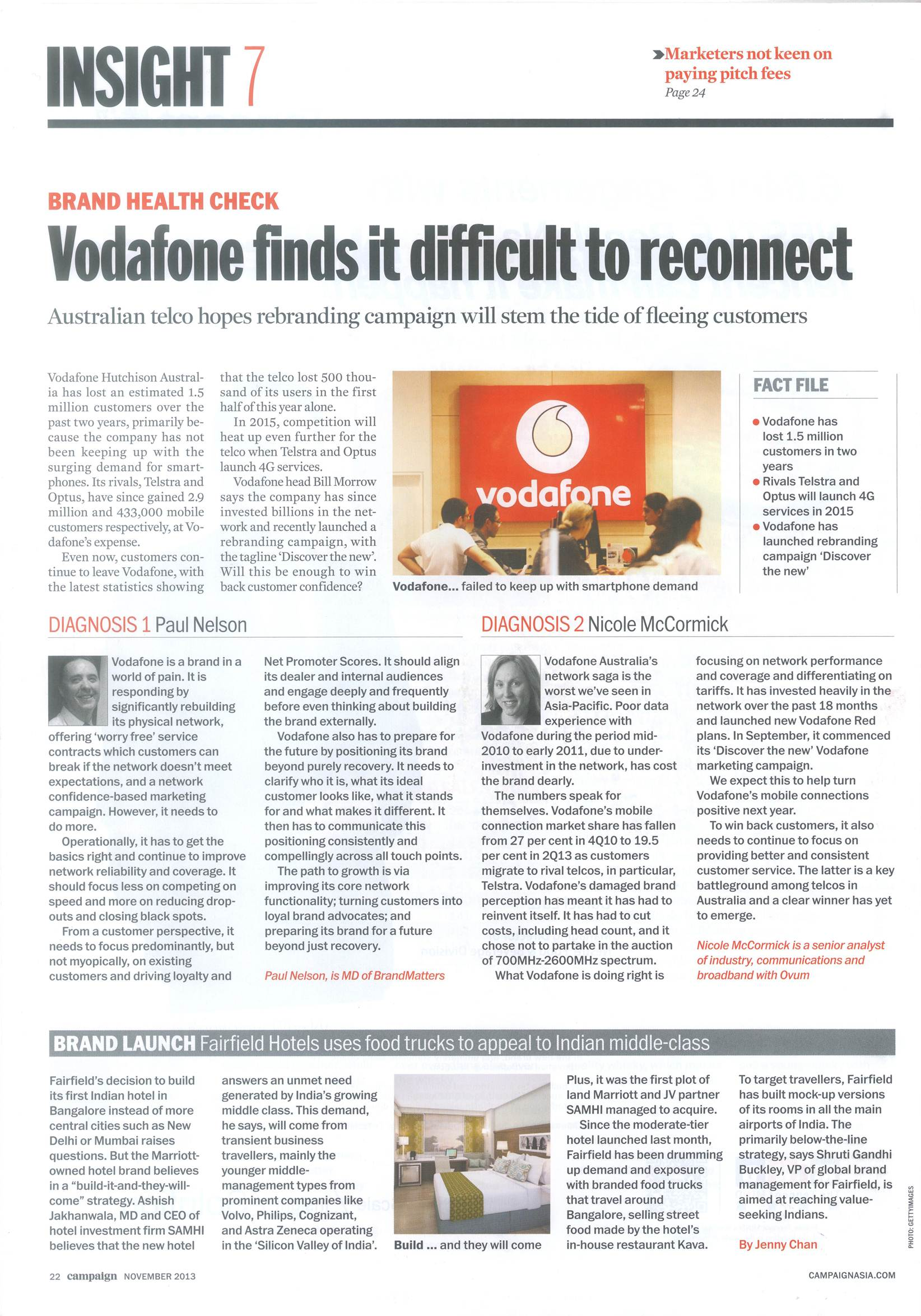 BrandMatters MD Paul Nelson talks about brand strategy and Vodafone